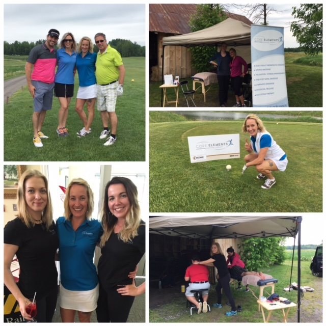 Core Elements Orleans & Staff at the Orleans Chamber of Commerce Annual Golf Tournament 2016